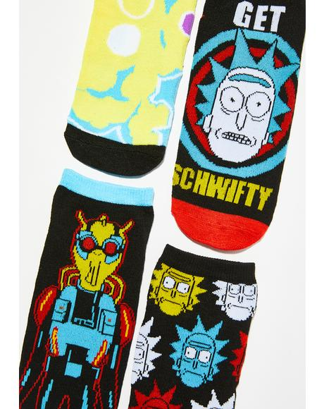 Get Schwifty Sock Set