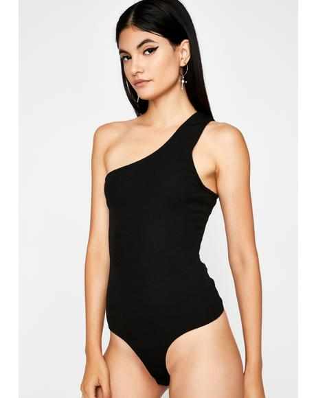 Nox Pop The Clutch Asymmetrical Bodysuit