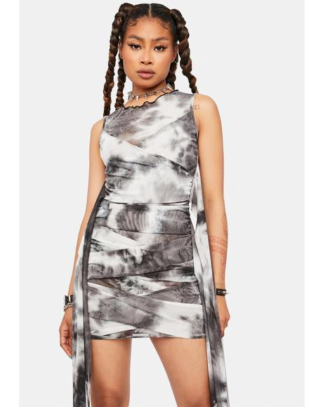 Likely To Misbehave Tie Dye Dress