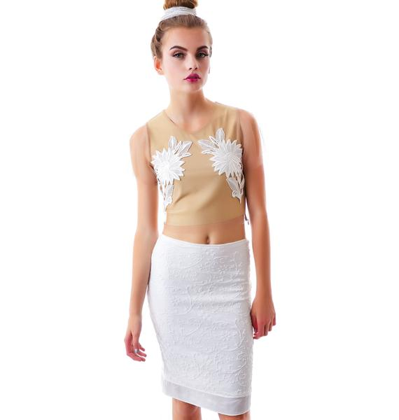 For Love & Lemons Little Darling Skirt