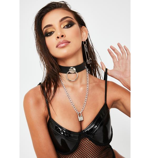 Lil Promiscuous Lock Choker