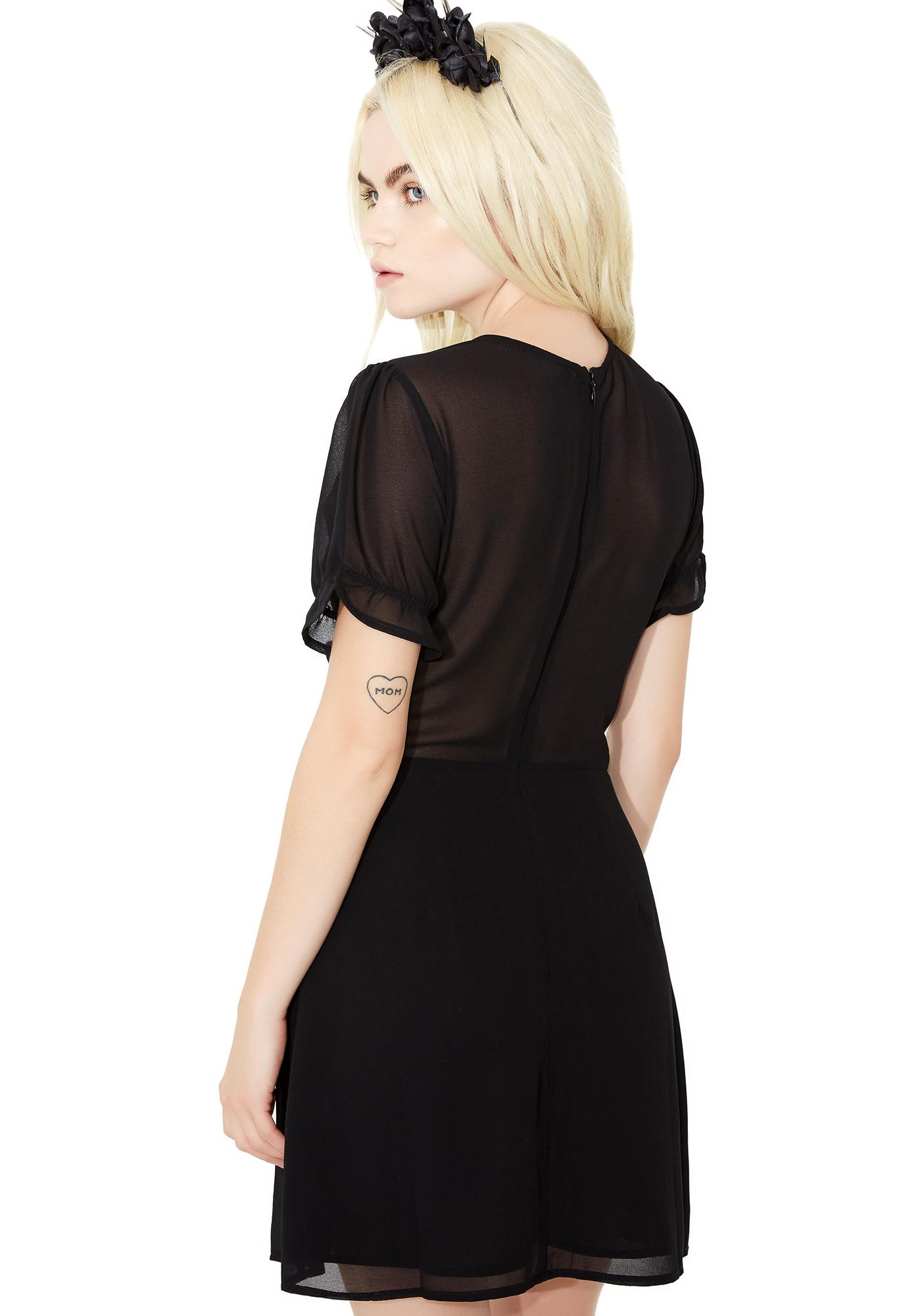 Into The Night Babydoll Dress