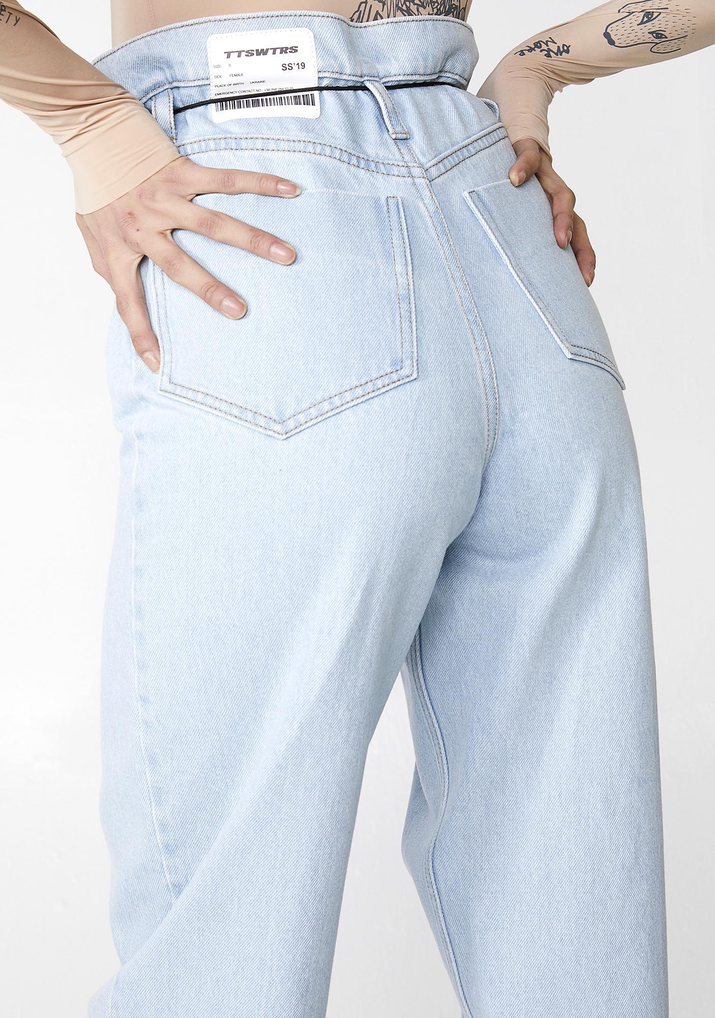 TATTOOSWEATERS Denim Jeans