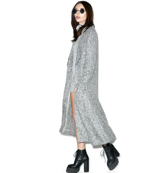Somedays Lovin Shrubs Wool Duster Coat