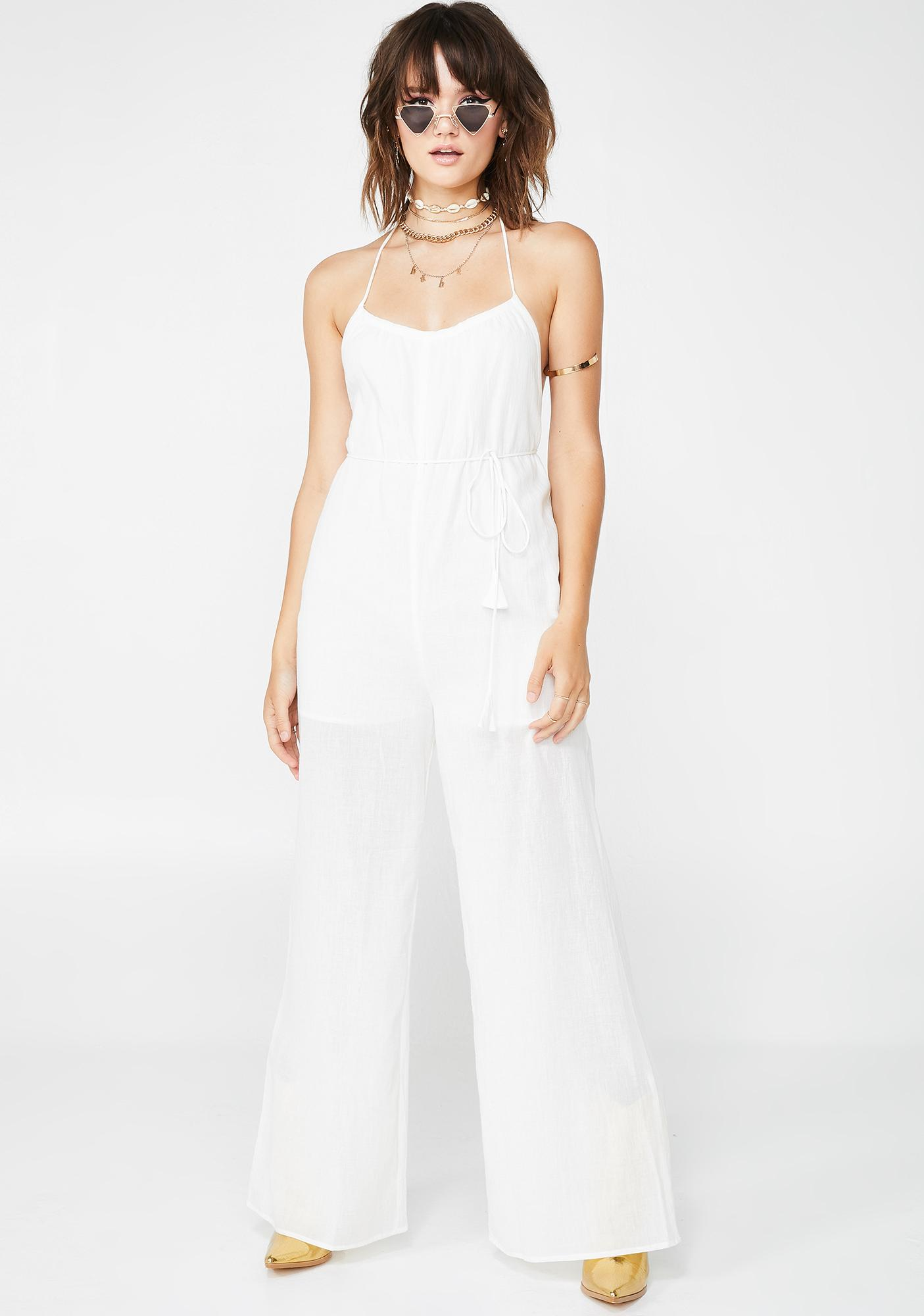 Breezy Babe Wide-Leg Jumpsuit
