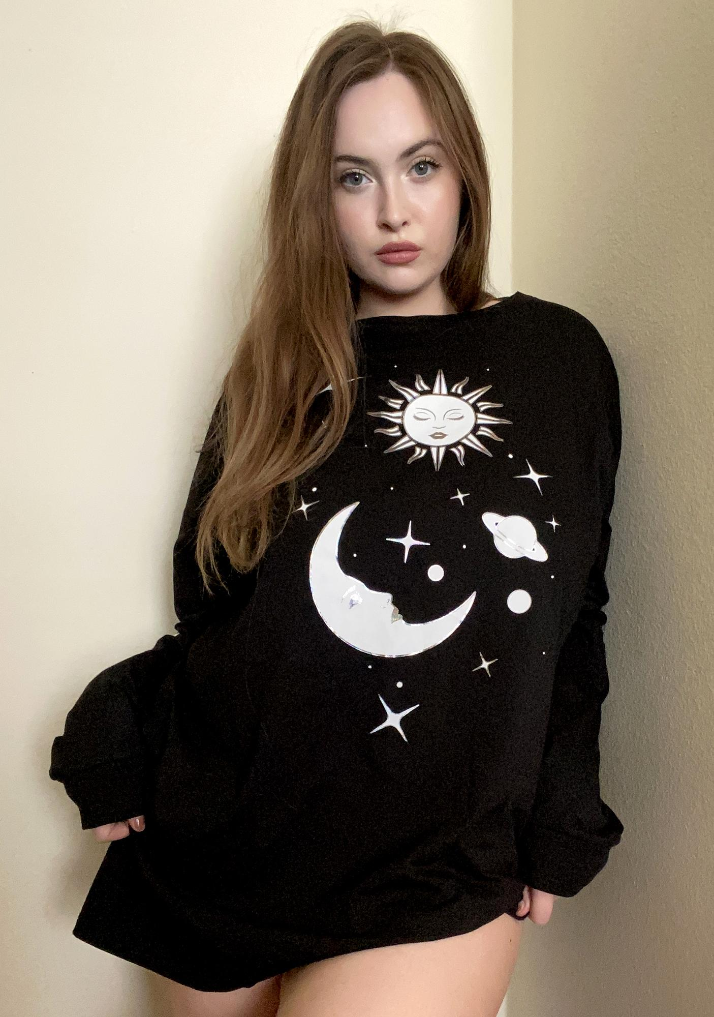 HOROSCOPEZ I'll Find A Balance Long Sleeve Tee