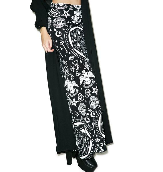 Killstar Occult Maxi Skirt
