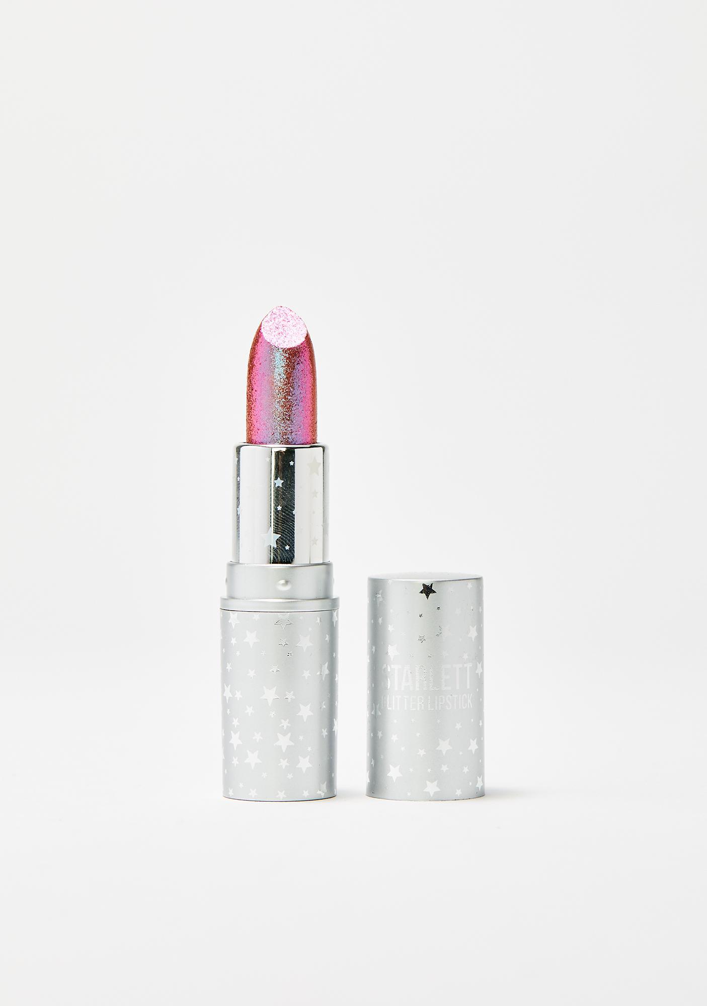 Rude Cosmetics Starlett Supercharged Prima Donna Color Shift Glitter Lipstick