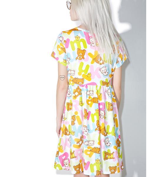 Japan L.A. Rilakkuma Rainbow Dress