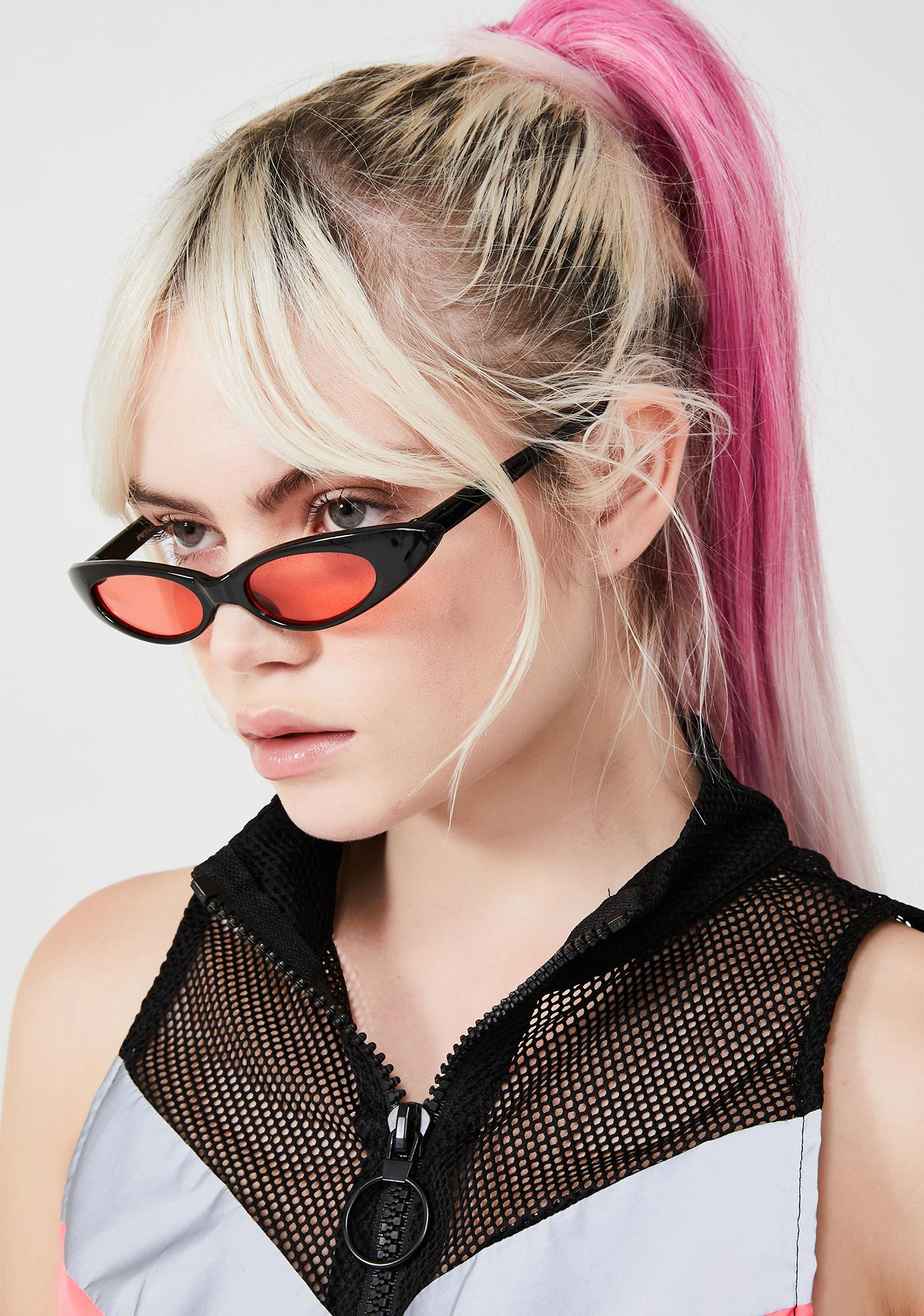 Petals and Peacocks Baby Meow Cat Eye Sunglasses