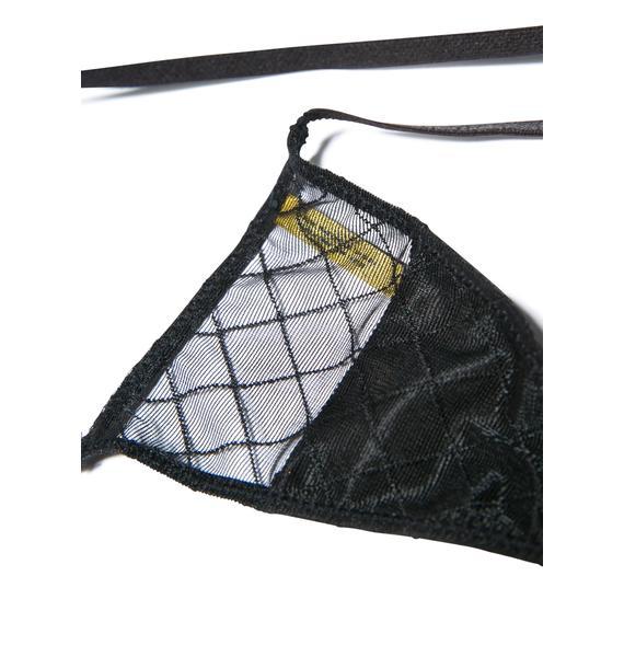Love Haus Sheer Sexy Micro Thong Panty