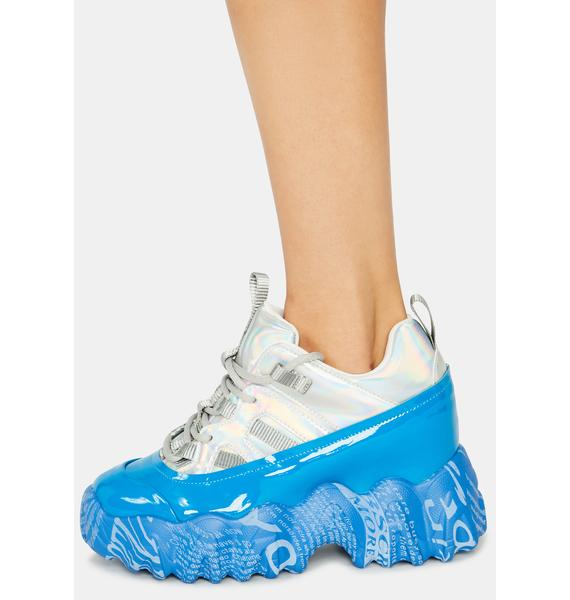 Anthony Wang Blue Blackberry Sneakers