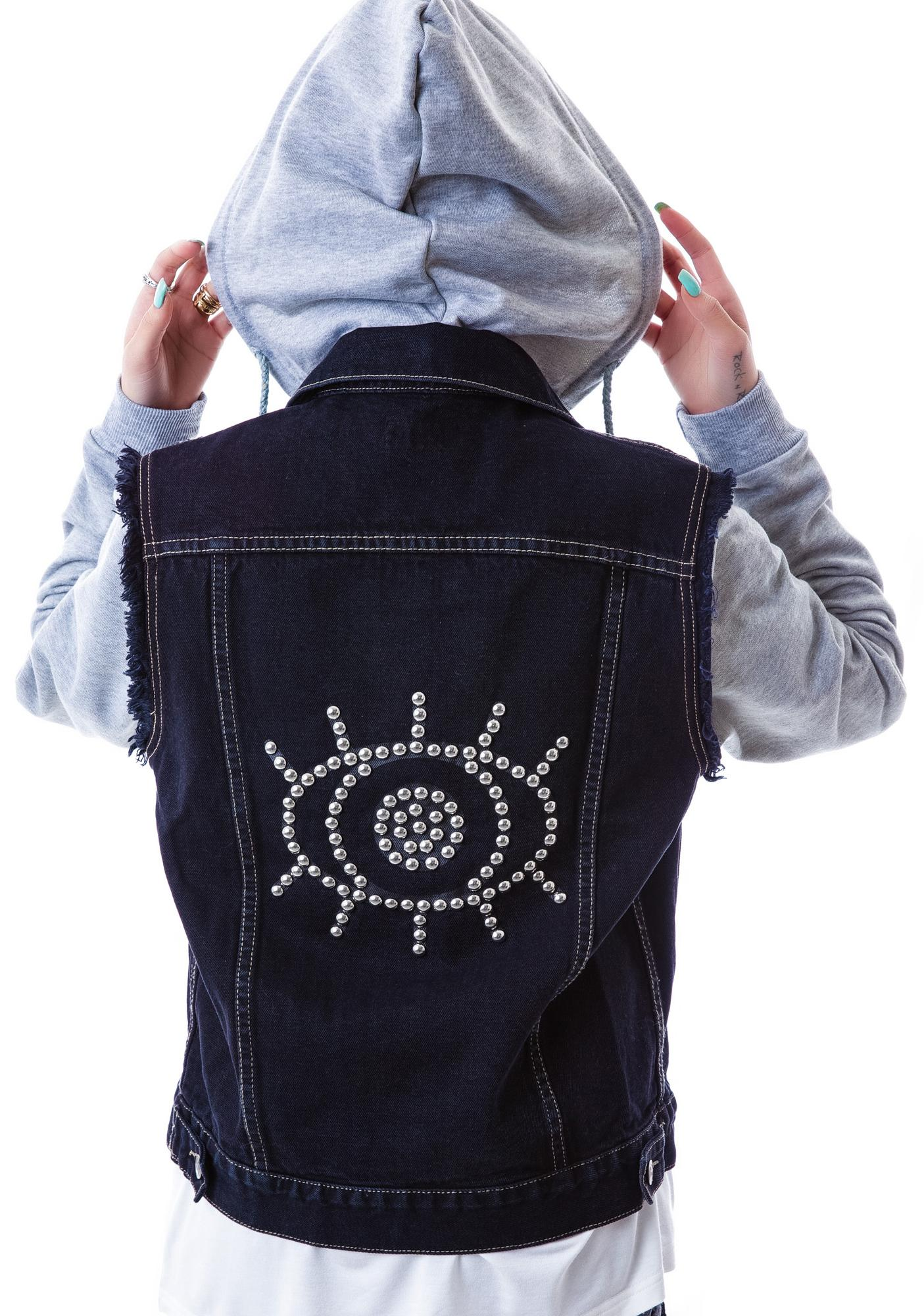 Evil Twin Lazy Eye Combo Denim Jacket
