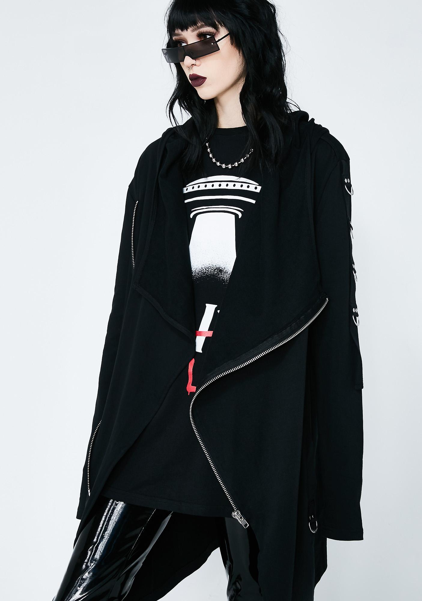 Killstar Shinjuku Rebel Zip Hoodie
