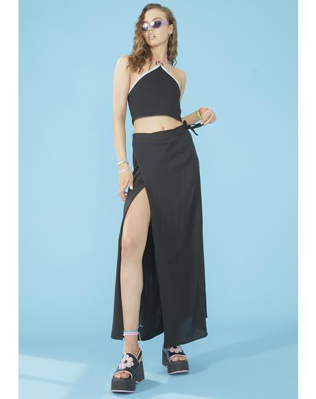 Beachy Keen Wrap Skirt