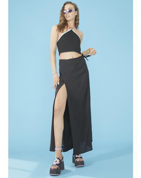 Beachy Keen Wrap Skirt