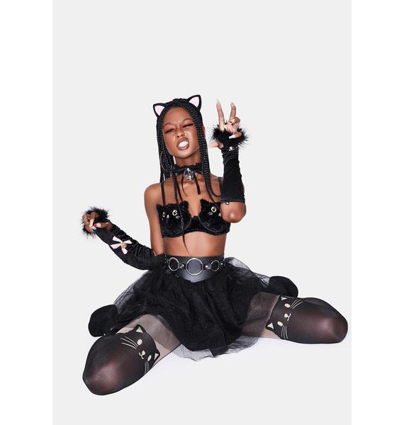 Come Kitty Bell Choker