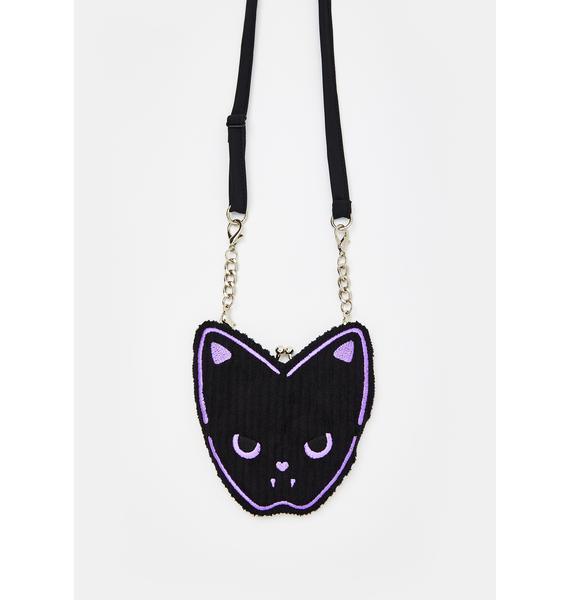 Morph8ne Purrple Embroidered Bag