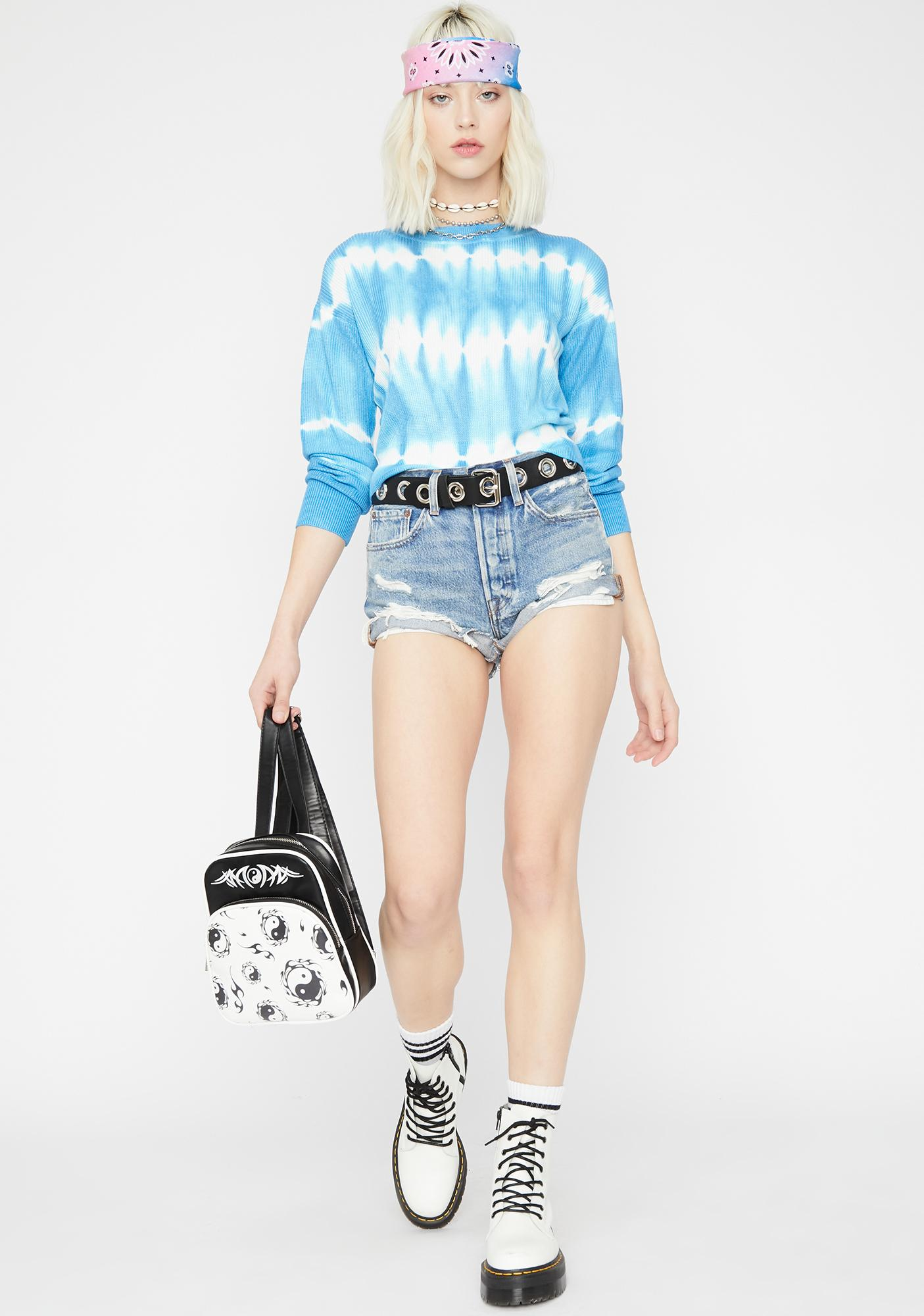 Chillin' Out Tie Dye Sweater