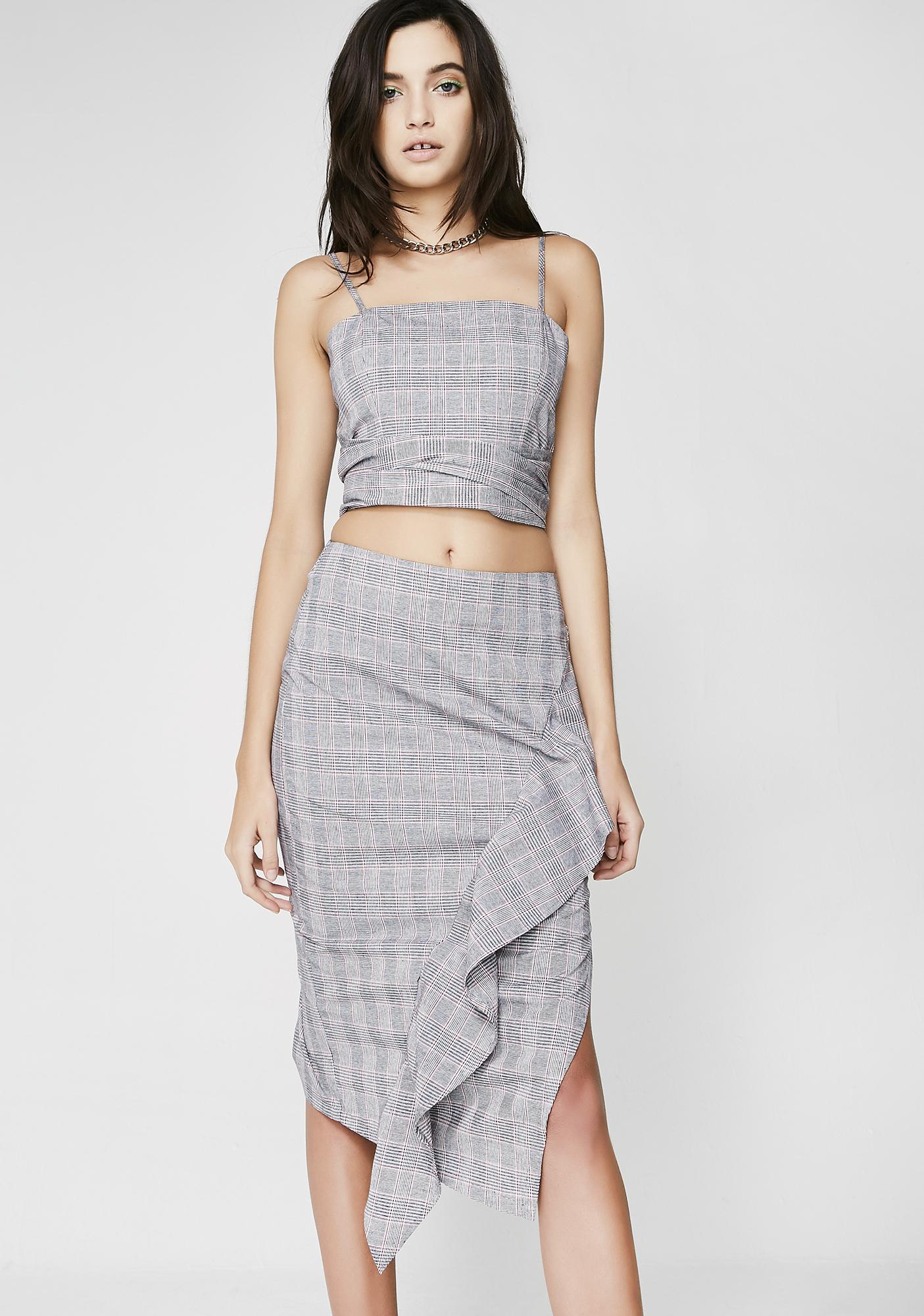 First Class Asymmetrical Skirt