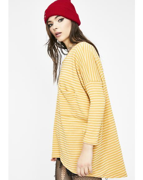 Cancel The Plan Stripe Top