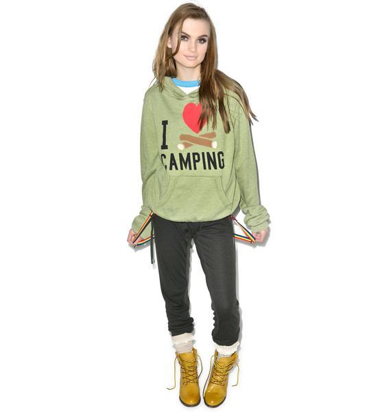 Wildfox Couture I Love Camping Malibu Pullover Sweater