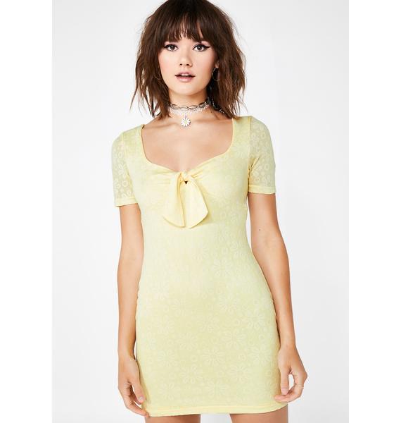 Sunshine Serenade Mini Dress