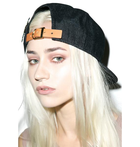 Black Scale Belizian New Era Strapback