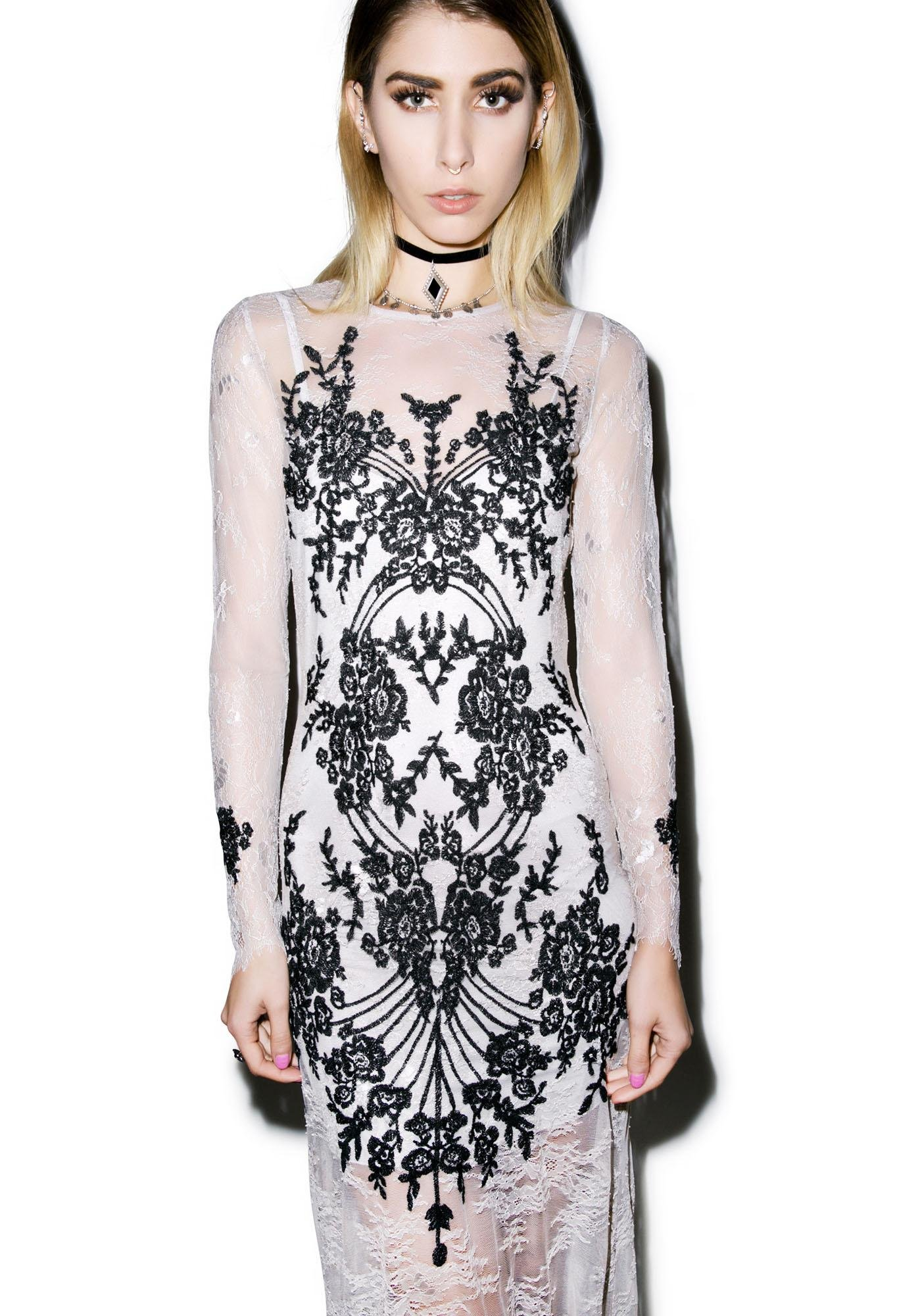For Love & Lemons Lacey Dreams Dress