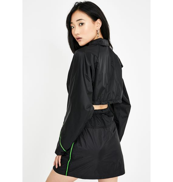 Rojas Neon Chaotic Track Jacket