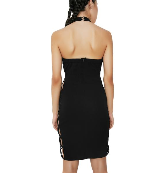 Big Ego Halter Dress