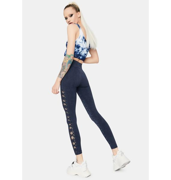 Running Laps Active Cut Out Leggings