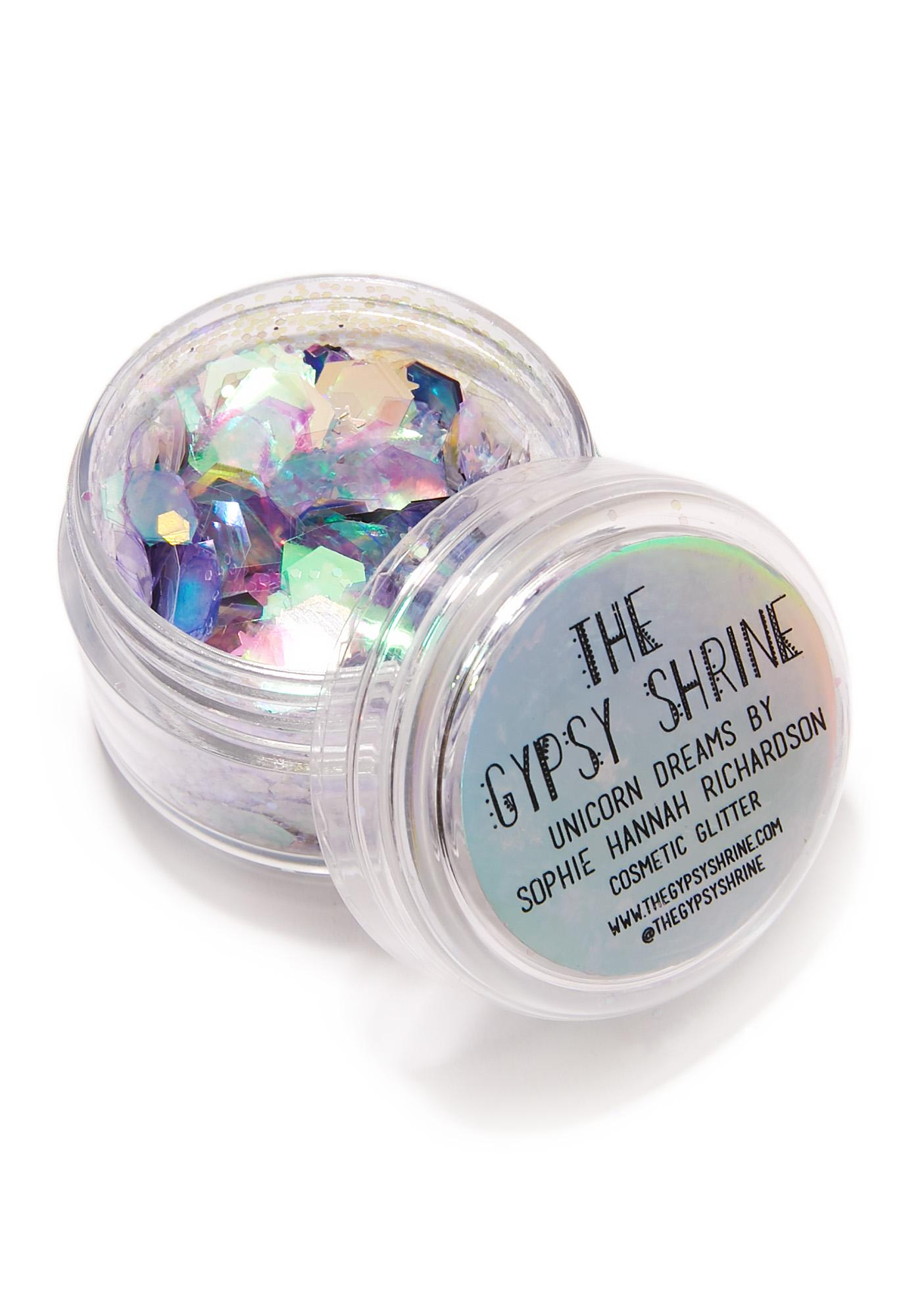 The Gypsy Shrine Unicorn Dreams Iridescent Face Glitter
