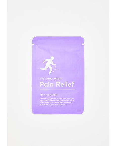 Pain Relief Hemp-Infused Patch