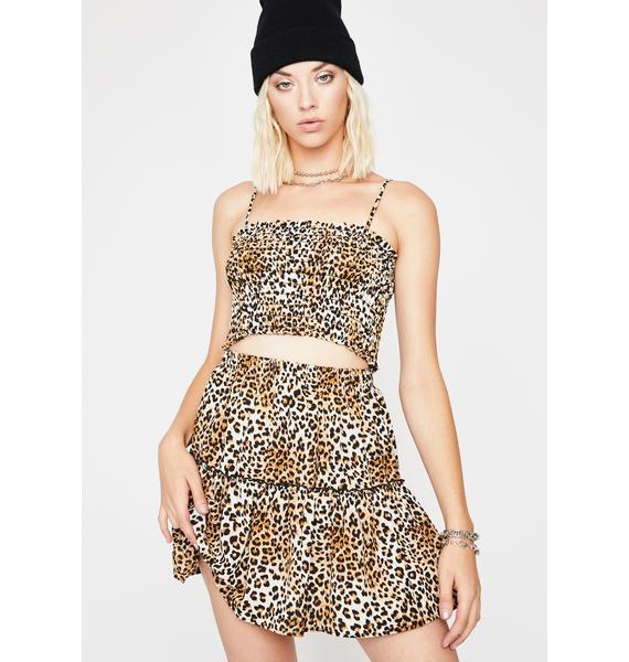 Fierce Flirt Leopard Set