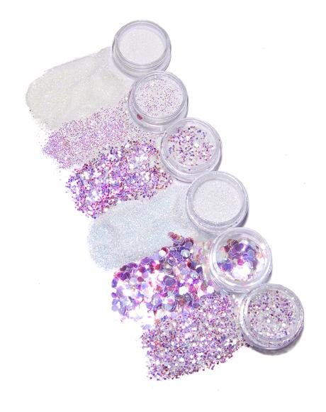Iridescent Angel Glitter Set