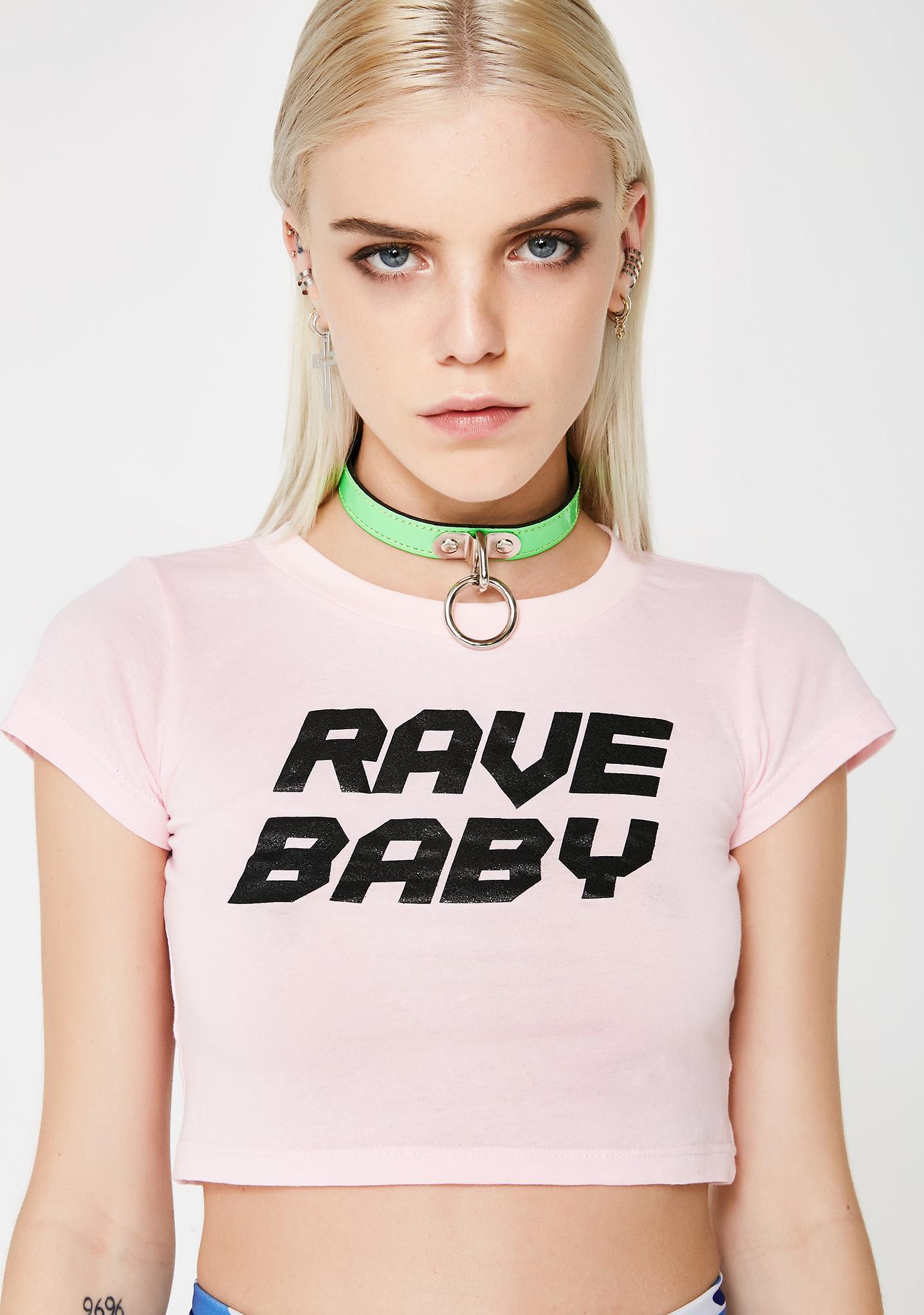 Club Exx Rave Baby Tee