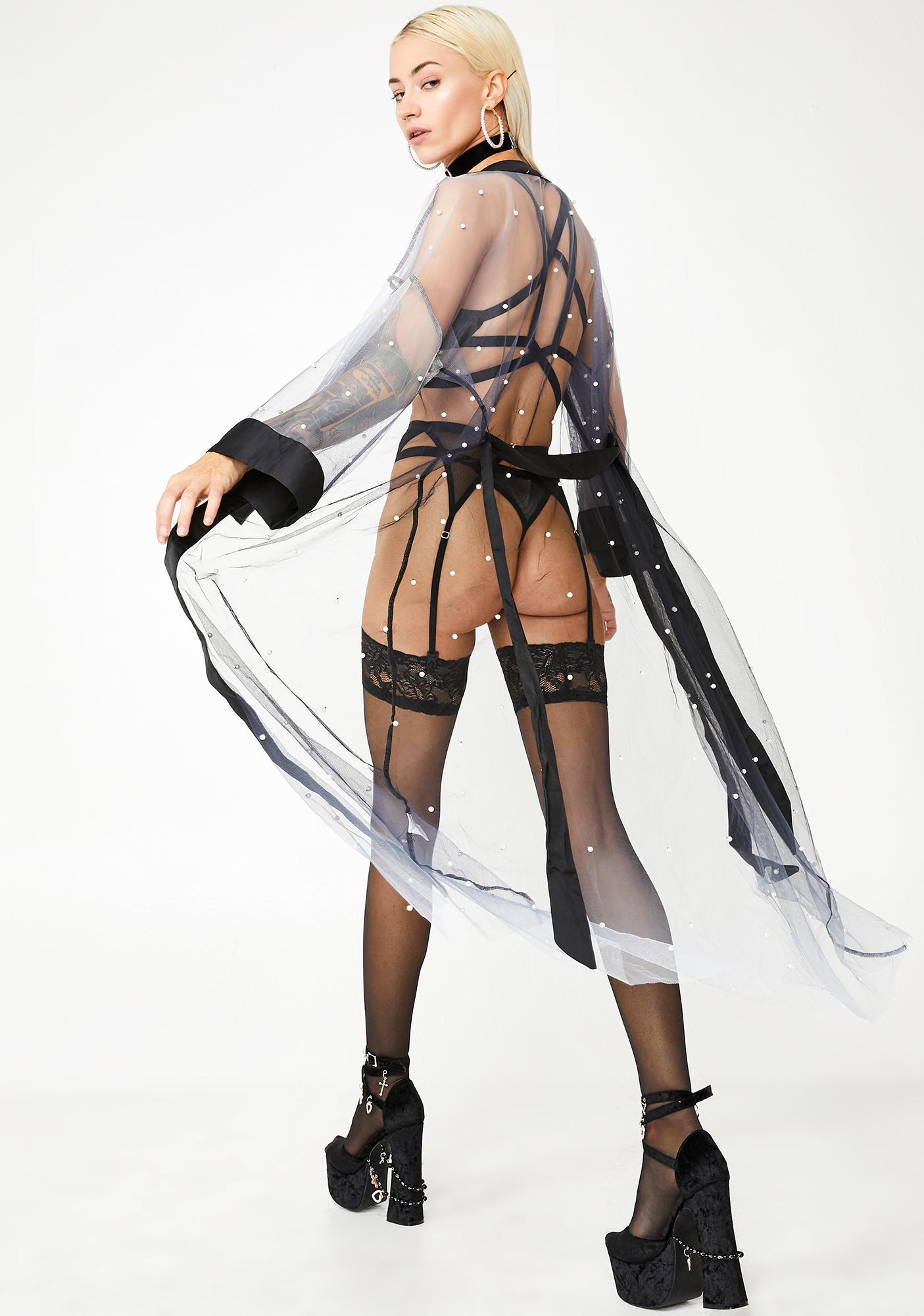 Bound Embellished Robe