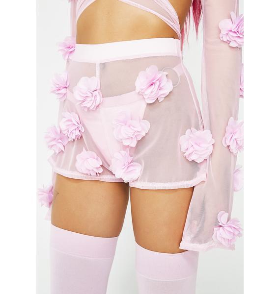 Babydol Clothing  Sweet Flower Power Shorts