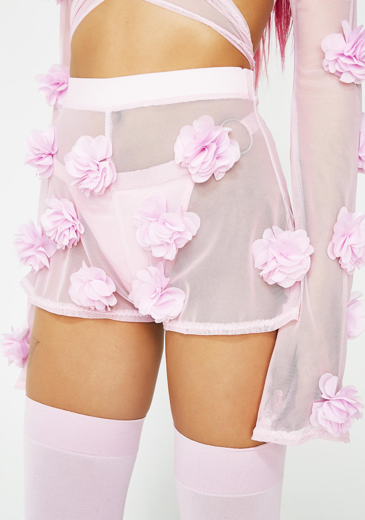 Babydol Clothing Sweet Flower Power Shorts