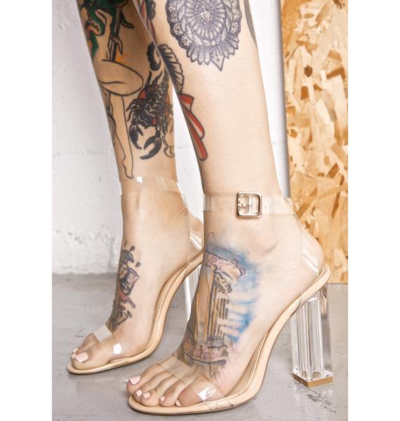 Venus Lucite Heels