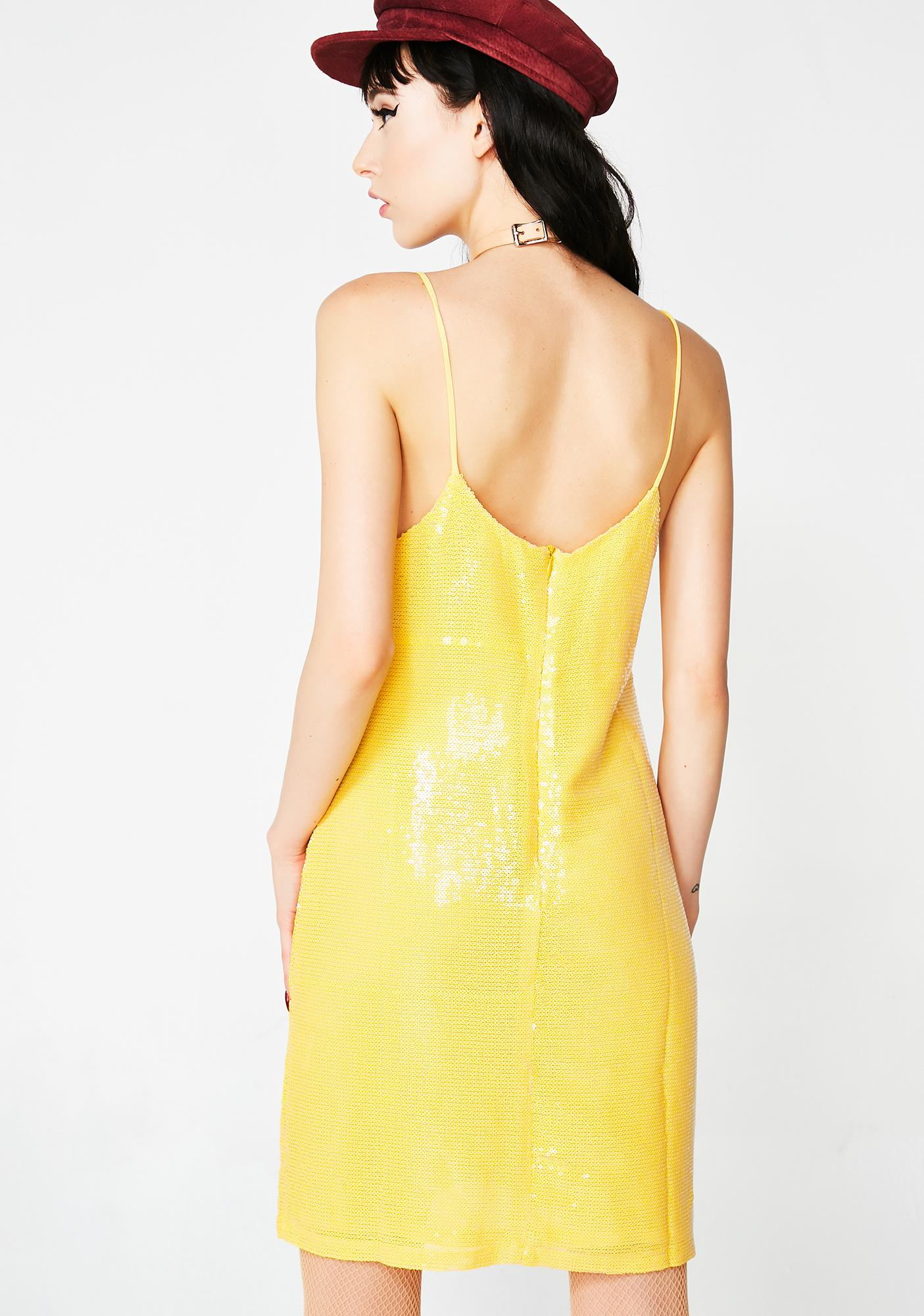Glamorous Shot Caller Sequin Dress