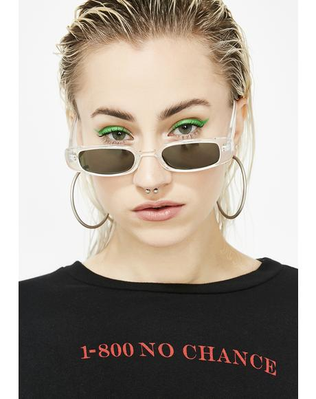 Clearly Look Alive Tiny Sunglasses