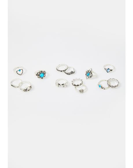 Gypsy Dreams Ring Set