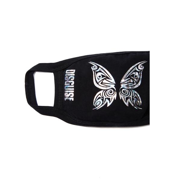 MeYouVersusLife Tribal Butterfly Mask