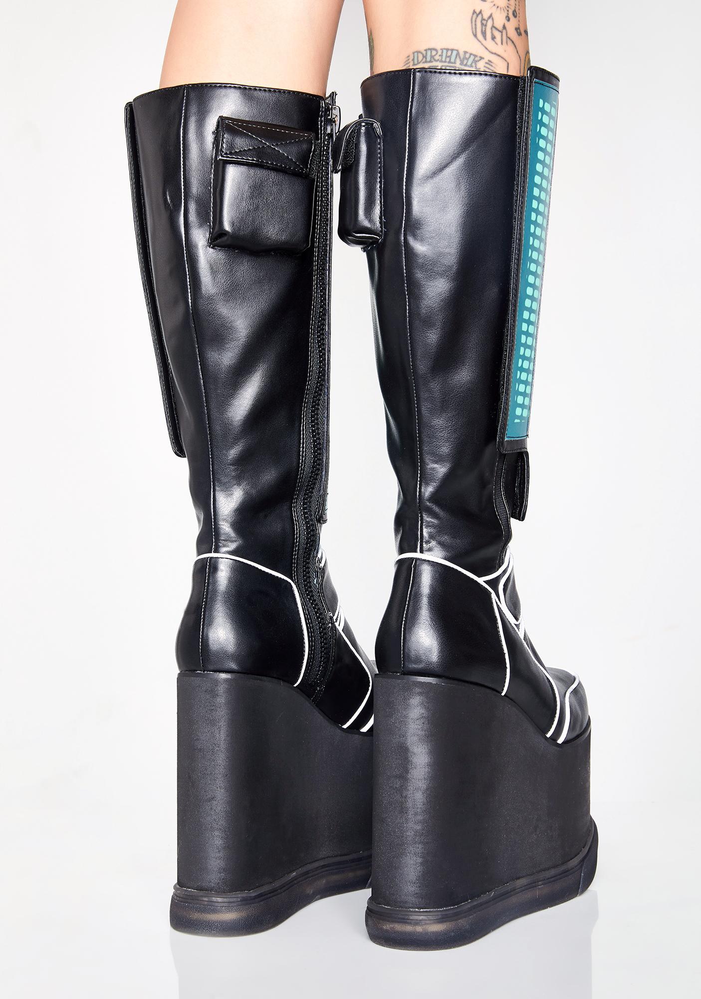 Club Exx Dance Robotix Sound Reactive Boots