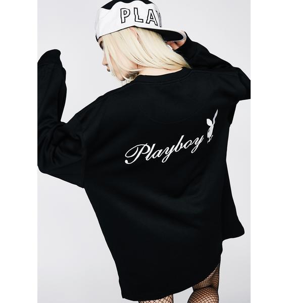 Vintage Playboy Bunny Logo Sweatshirt