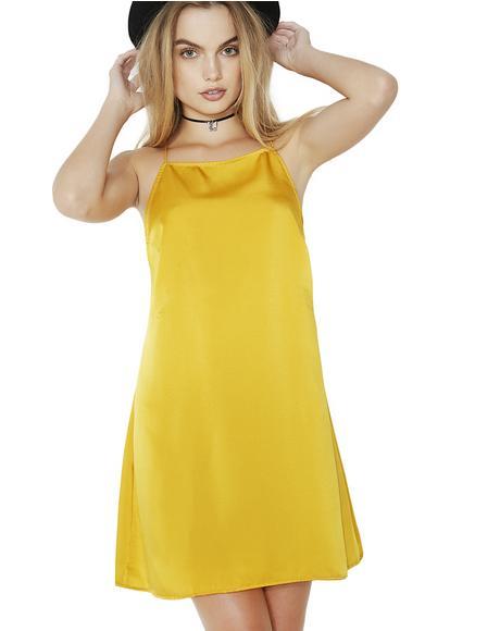 Golden Faye Dress