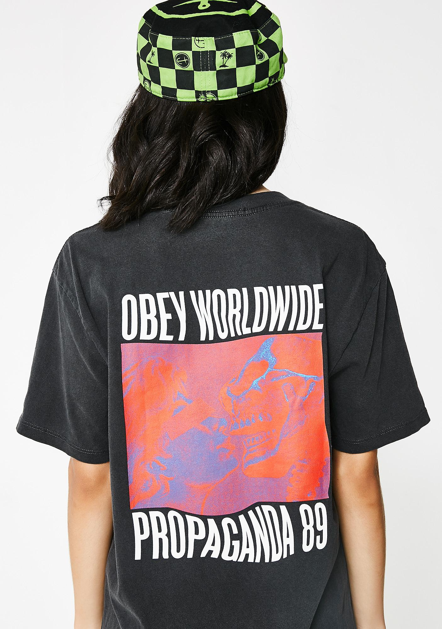 Obey Death Kiss Tee