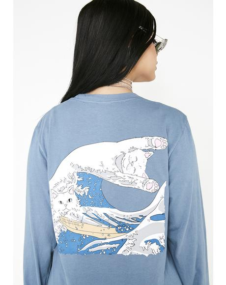 Great Wave Long Sleeve